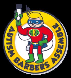 Autism Barbers Assemble Logo